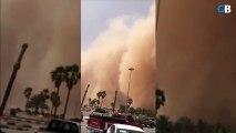 Une tempête de sable qui ressemble à la fin du monde en Arabie saoudite