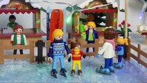 Noir trou trou Je suis film allemand playmobil enfants aquapark série film enfant de la famille Jans