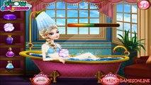 Gelé des jeux filles beauté enceinte Princesse reine spa elsa disney