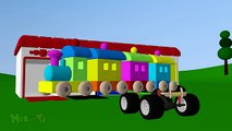 Couleur les couleurs couleurs pour enfants Apprendre apprentissage monstre les tout-petits un camion Véhicules avec ch