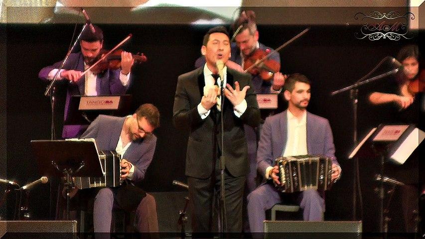 Ariel Ardit y orquesta en Mundial de Tango 2017 y su pensamiento en palabras, Luna Park. Mundial de Tango 2017