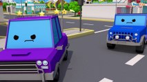 COLOR Cars & Trucks w 3D Animation Cars Cartoon for kids and for babies! Cars & Trucks Stories