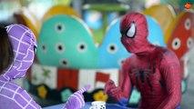 Docteur gelé amusement amusement dans est est est vie film réal malade homme araignée super-héros contre Anna