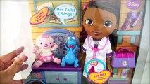 Poupée parler Marche jouets médecin poupée jouet n doc Docteur La Peluche juguetes mobiles