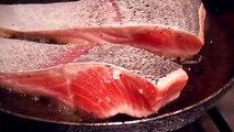 Dix poisson frit en bonne santé casserole pâtes recette recettes salade Saumon Minute w mascarpone orzo