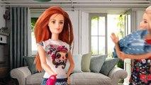 Video para y ❀ Barbie niña de dibujos animados muñeca de Cenicienta con muñecas Barbie Ken Serie 1