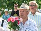 Victimele primelor deportari, comemorate la Chisinau. O parte din cei care au revenit din Siberia au mers la Trenul Durerii din scuarul Garii - am mers in vagoane vreo doua luni, care nastea, care murea...