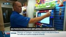 La chronique d'Anthony Morel: Des puces électroniques implantées à des employés - 25/08