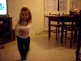 cylia 4 ans danse la tecktonik