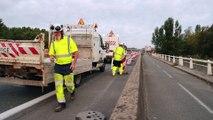 Rocade de Bordeaux : la nouvelle bretelle d'accès au stade Matmut est ouverte