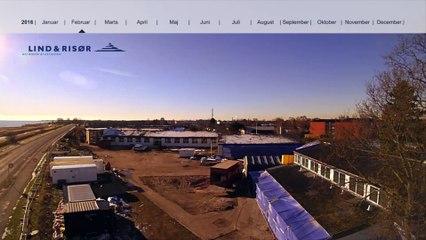 Lind & Risør filmer byggeprocessen ved nye rækkehuse ved Vierdiget, Dragør / del 2