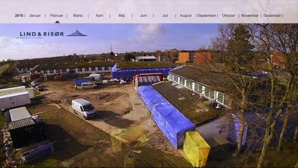 Lind & Risør filmer byggeprocessen ved nye rækkehuse ved Vierdiget, Dragør / del 3