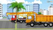 Coches para niños - Videos Para Niños - Camiones grandes - Camiones infantiles