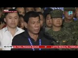 Gov't ready for NPA attacks - Duterte