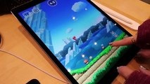 All 4 Levels Super Mario Run Demo Levels w/ Sound (iPad Pro Gameplay)