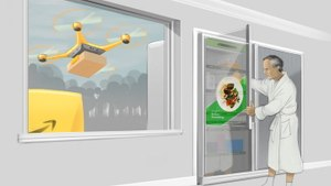 The Future of Amazon and Whole Foods: Drones, Shared Refrigerators & Hydroponic Garages