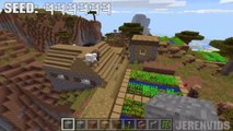 Minecraft PE Seeds - Survival Island with Ocean Monument