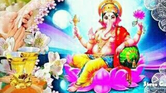Shri Ganesh Jayanti-Whatsapp msg,video,Amazing images etc.