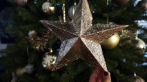 Papier carton Noël bricolage citron Mer étoile arbre 3d haut de forme |