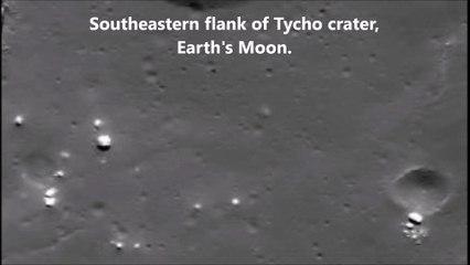 Ay'da yine dev UFO görüntülendi | SpaceExplorer.TV