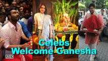 Ganesh Chaturthi: Celebs Welcome Ganesha home