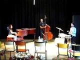 Dans les coulisses du trio de jazz, le « Jessica Rock Trio »