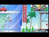 Niños para historietas de dibujos animados sobre una máquina Villa Serie 1