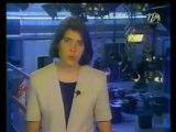 Flash Caroline Buffard TLM - Télé-Lyon-Métropole - 1994