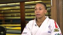 Judo - ChM : L'interview «première fois» avec Amandine Buchard