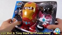 Tête héros merveille miscibles m pomme de terre examen jouet déballage Vengeurs amusants |