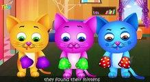 Et chat chaton chatons petit de nombreux plus garderie populaire rimes chansons Trois |
