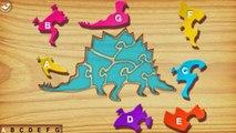 Amusement dinosaure enfants Jeu enfants Apprendre dinosaures première enfants puzzle éducatif vidéos
