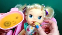Bébé vivant mon bébé tous les disparu poupée cornemuseur alimentation et désordonné caca