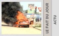 Le fait du jour/ Son taxi en feu, quelques heures après sa prise de fonction