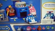 Et complet de de jouer Ensemble équipe jouets Robocar Poli Unbox Robo voiture poly Robocar Poli