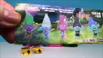 Мечты троллей серии 4. слепой мешки сюрпризы Игрушки пластик шоколад Пасха Яйца банка Ча