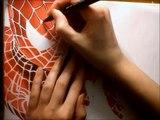 Dibujo regreso a casa velocidad hombre araña |