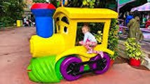 Family Fun Outdoor Amusement Theme Park Funny Playground and colors toys Entertainment for kids