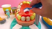 Docteur percer remplir modeleur pâte à modeler cygne jeu le dentiste pâte à playdoh n