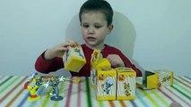 Et boîte de à M jouets déballage et jouets surprise, jerry qui surprend Jerry ouvert