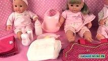 Bébé poupée lun poupée corolle bébé classique blondinette coffret de bébé cerise accessoires