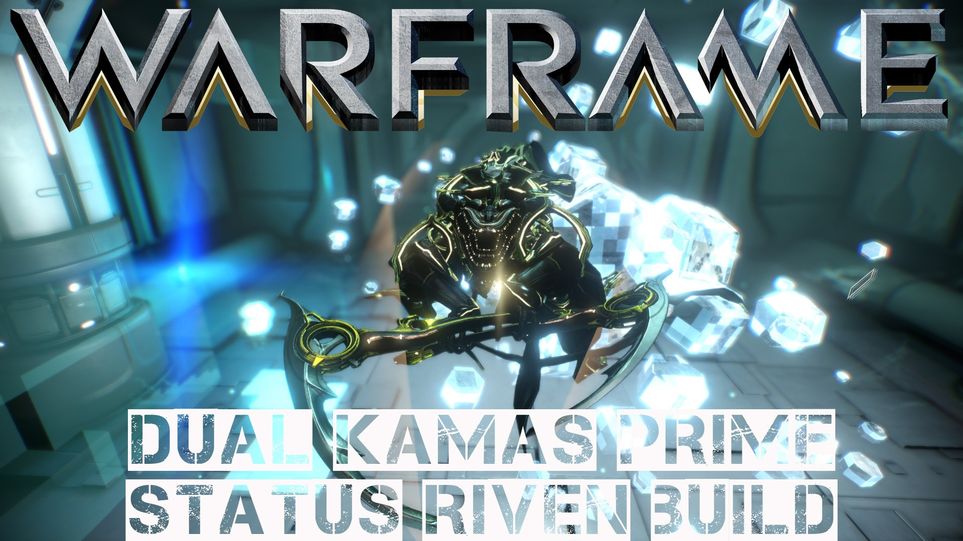 Warframe Dual Kamas Prime Status Riven Build