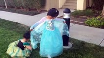 Vêtements poupée Robe gelé ouverture examen chaussures garde-robe Disney elsa playset olaf