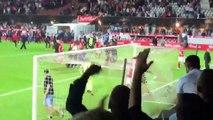 Brest-Nancy : Geoffrey Jourdren tire sur les supporters brestois et se fait expulser