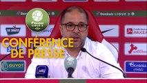 Conférence de presse Stade Brestois 29 - AS Nancy Lorraine (2-1) : Jean-Marc FURLAN (BREST) - Pablo  CORREA (ASNL) - 2017/2018