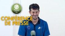 Conférence de presse Paris FC - AJ Auxerre (2-1) : Fabien MERCADAL (PFC) - Francis GILLOT (AJA) - 2017/2018