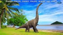 Enfants dinosaure la famille doigt pour la musique garderie rimes |