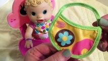Vivant bébé haricot changer couche poupée alimentation aliments Cru avec Beatrix 2006