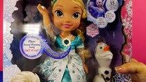 Et Californie poupée gelé lueur aller Il laisser en chantant neige bonhomme de neige tout petit jouet Elsa disneycartoys olaf