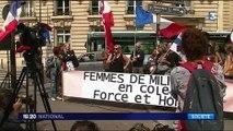 Armée : les femmes de militaires manifestent